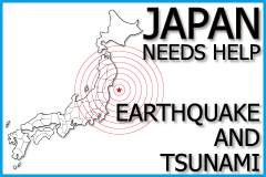 Japan needs HELP, Earthquake and Tsunami