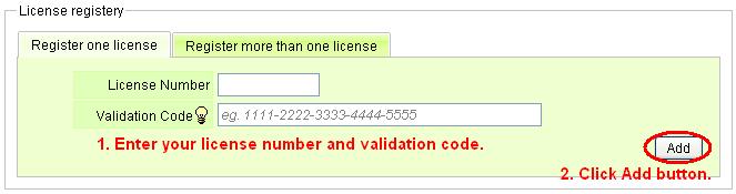 CV Members Inputcode