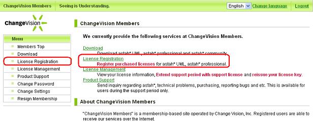 CV Members Register License